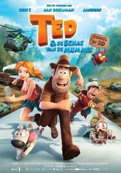 Ted & de schat van de mummie